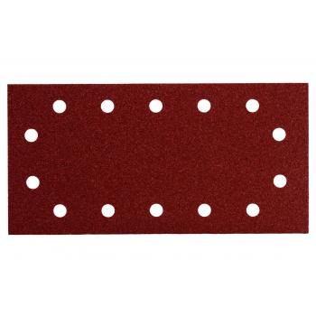 Шлифовальные листы METABO 115 x 230 мм, 14 отверстий, на липучке, 10 шт., P 40 (625786000)